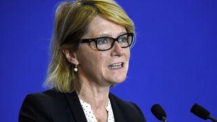 Véronique Louwagie, députée LR de l'Orne, le 11 mars 2015. (DOMINIQUE FAGET / AFP)