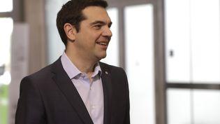 Le Premier ministre grec Alexis Tsipras, le 22 mai 2015 à Riga (Lettonie). (INTS KALNINS / REUTERS)