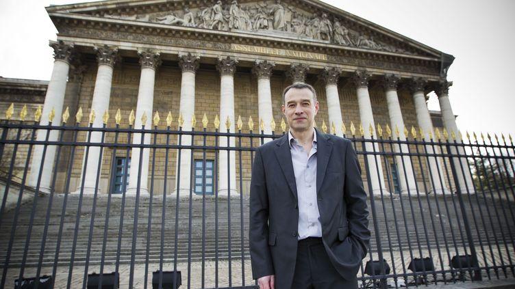 Hervé Lebreton devant l'Assemblée nationale, le 7 avril 2013. (WARTNER / 20 MINUTES / SIPA )