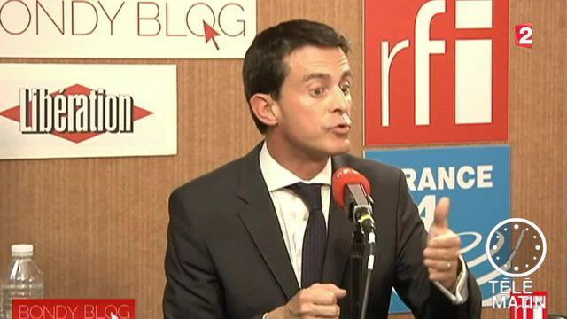 """Valls : """"Hors de question de laisser le Front national gagner une région"""""""