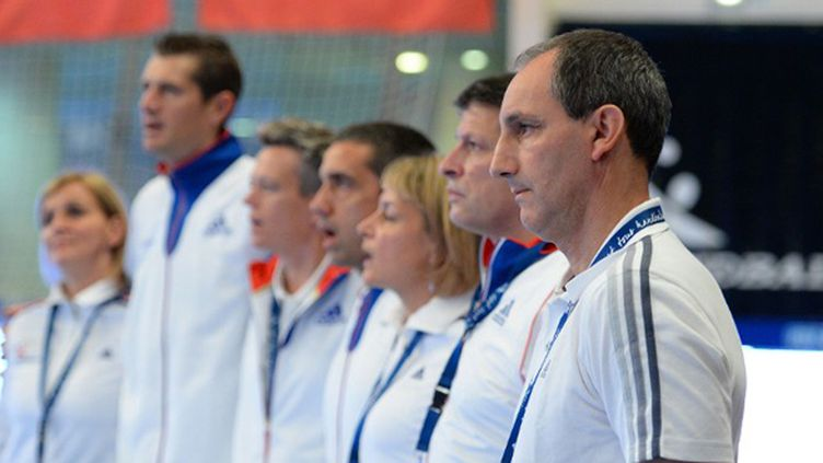 Le sélectionneur de l'équipe de France Alain Portes (JULIEN CROSNIER / DPPI MEDIA)