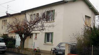 La maison de la mère d'un des jihadistes présumé, à Graulhet (Tarn), le 15 décembre 2014. (  MAXPPP)