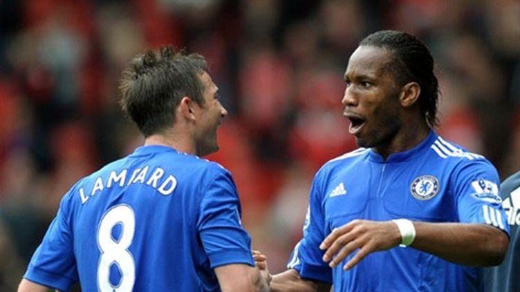 Didier Drogba et Frank Lampard (Chelsea)