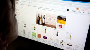 Une femme consulte un site de vente en ligne, à Washington (Etats-Unis), le 8 novembre 2012. (KAREN BLEIER / AFP)