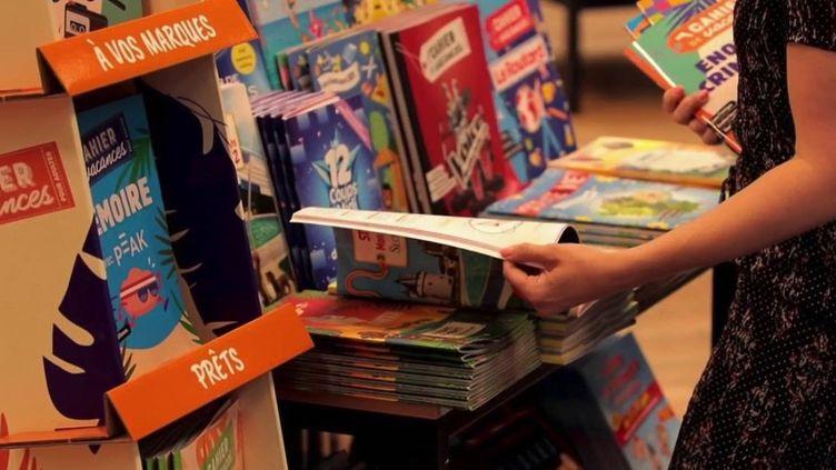 Des cahiers de vacances pour les adultes. (CAPTURE ECRAN FRANCE 2)