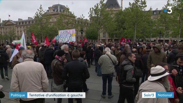 Politique : tentative d'unification à gauche