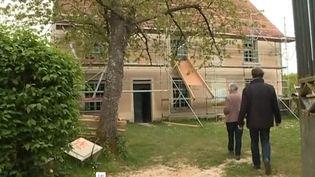 Les travaux de rénovation de la Maison des Claudel  (Capture d'écran France 3/Culturebox)
