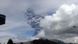 Le volcan Cotopaxi, en Equateur, le 14 août 2015. (JUAN CEVALLOS / AFP)