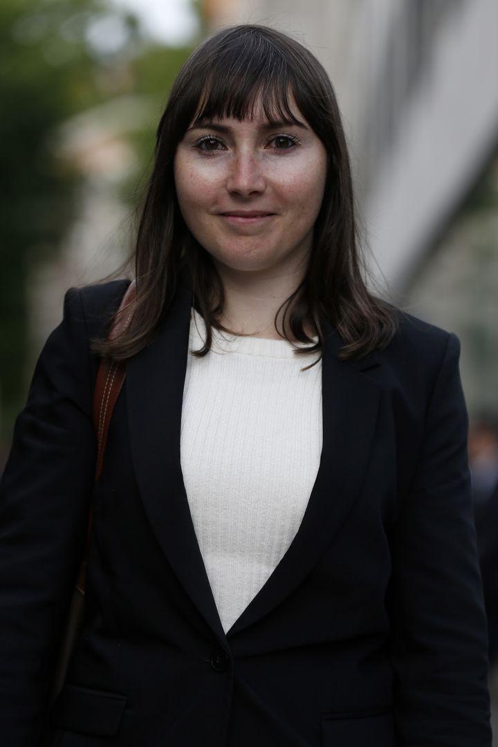 La députée Emilie Guerel, le 13 mai 2017 à Paris. (CHARLY TRIBALLEAU / AFP)