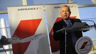 Pierre Henri Gourgeon, le directeur général d'Air France, novembre 2009 (AFP. Emmanuel Dunaud)