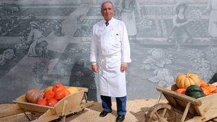 """Michel Guérard dans son restaurant """"Les prés d'Eugénie, dans les Landes (septembre 2013)  (NICOLAS TUCAT / AFP)"""