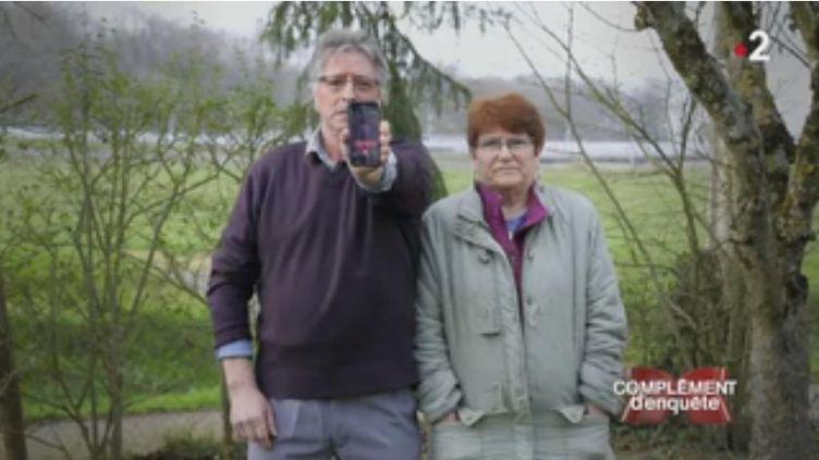 """Complément d'enquête. """"Quarante et un ans de vie foutus en l'air"""" : la retraite à 70 mètres du TGV (FRANCE 2 / FRANCETV INFO)"""
