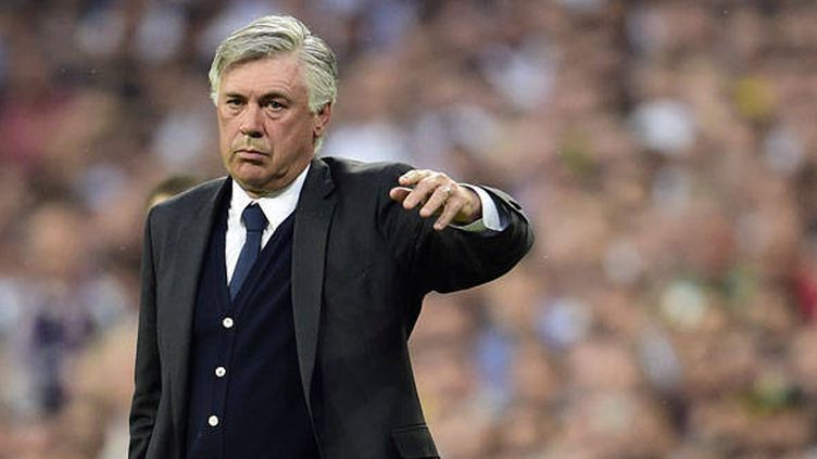 L'entraîneur du Real Madrid, Carlo Ancelotti