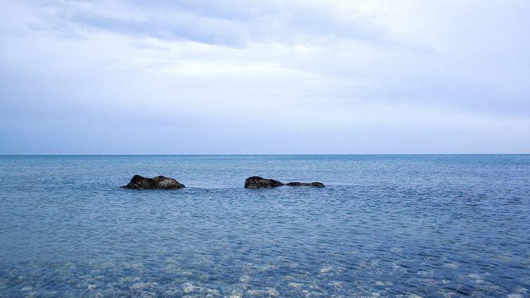 Une plage de la région des Pouilles en Italie, le 3 février 2007. (MAXPPP)