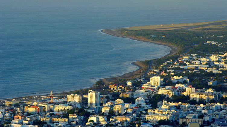 La ville de Saint-Denis sur l'île de La Réunion, le 1er avril 2009. (MAXPPP)