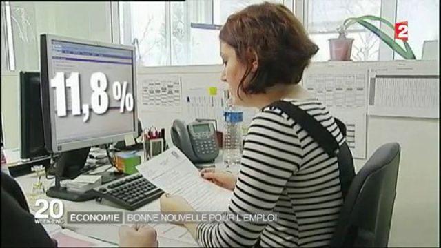 Économie : bonne nouvelle pour l'emploi