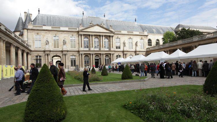 L'Hôtel de Soubise, à Paris, qui abrite le musée des Archives nationales. (MAXPPP)