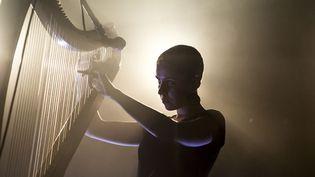 La chanteuse et harpiste bretonne Laura Perrudin.  (Nicolas Joubard)