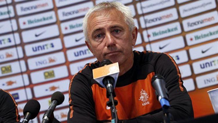 Bert van Marwijk, sélectionneur des Pays-Bas