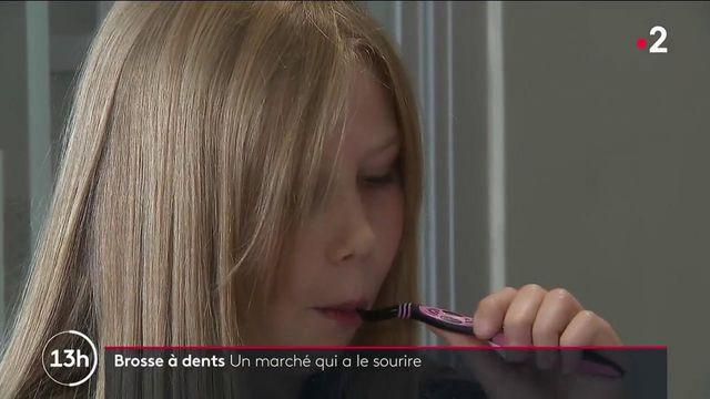 Santé : le marché de la brosse à dents en plein essor