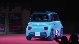 Une voiture sans permis, électrique et accessible dès 14 ans a été présentée jeudi 27 février. (France 3)