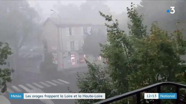 Orages dans la Loire et la Haute-Loire : une nuit très agitée