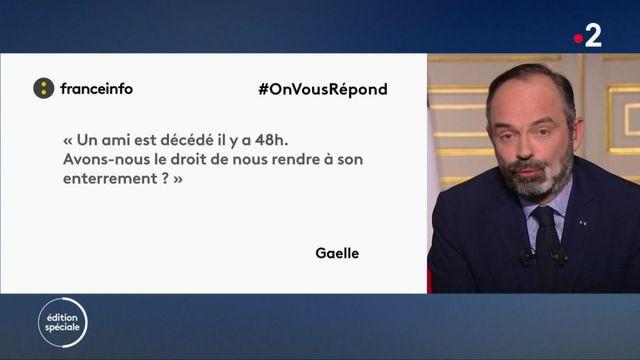 #OnVousRépond : Edouard Philippe répond aux questions des internautes sur l'épidémie