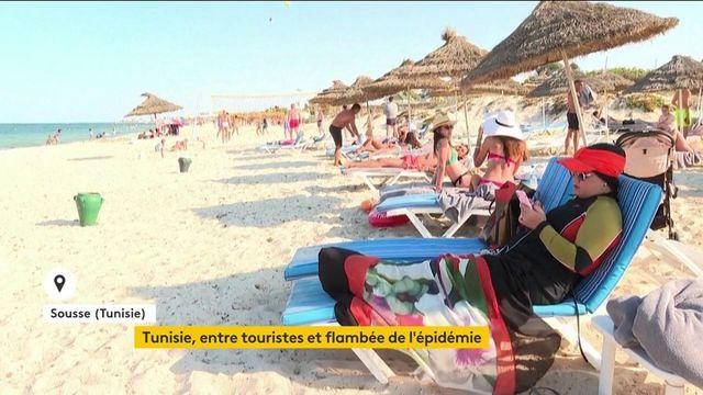 Covid-19 : la Tunisie doit faire face à une grave flambée de l'épidémie, le secteur du tourisme tente de survivre