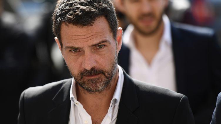 Jérôme Kerviel, le 23 septembre 2016, à Paris. (MARTIN BUREAU / AFP)