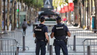 Emmanuel Macron doit définir les conditions de l'expérimentation de la police de sécurité du quotidien, mercredi 18 octobre. (MAXPPP)