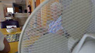 L'usage du ventilateur préconisé en période de canicule dans les Ehpad est fort déconseillé en matière de prévention contre le coronavirus (photo d'illustration). (PASCAL LACHENAUD / AFP)