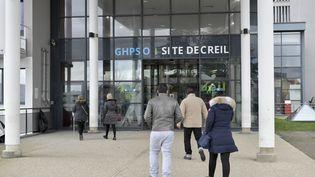 L'entrée de l'hôpital de Creil (Oise), le 8 février 2019. (MAXPPP)