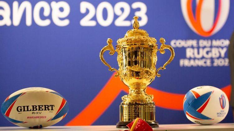 Conférencede presse sur l'organisation de la coupe du monde de rugby 2023, à Bordeaux, le 11 décembre 2020. (ST?PHANE DUPRAT / HANS LUCAS / AFP)