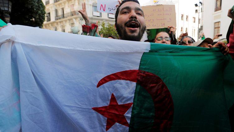 Manifestation d'étudiants à Alger le 5 mars 2019 (ZOHRA BENSEMRA / X90036)