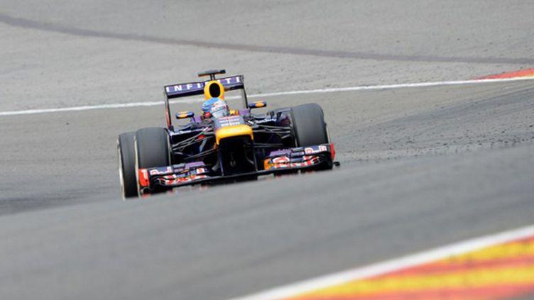 Cinquième victoire de la saison pour Sebastian Vettel (JOHN THYS / AFP)