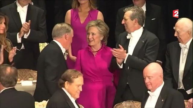 """Présidentielle américaine : un dîner entre """"amis"""""""