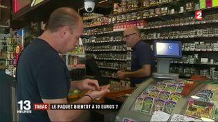 Tabac : la ministre de la Santé veut frapper fort (FRANCE 2)