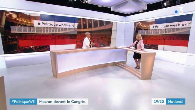 Politique : Emmanuel Macron devant les élus