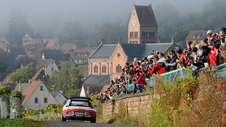 Sébastien Loeb lors du Rallye d'Alsace