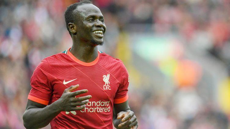 Sadio Mané lors d'un match de pré-saison avec Liverpool le 8 août. (PHILIP BRYAN / PROSPORTSIMAGES / AFP)