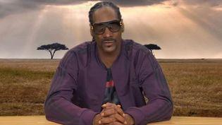 Snoop Dogg commente la vie des animaux dans Plizzanet Earth.  (Plizzanet Earth / Jimmy Kimmel Show)