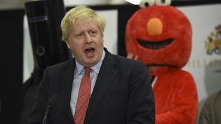 Le Premier ministre conservateur, Boris Johnson, le 13 décembre 2019 à Londres (Royaume-Uni). (OLI SCARFF / AFP)
