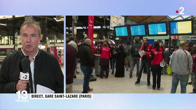 SNCF : le trafic est revenu à la normale à la gare Saint-Lazare