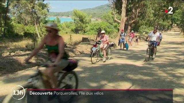 Tourisme : Porquerolles, un paradis naturel protégé très apprécié par les cyclistes