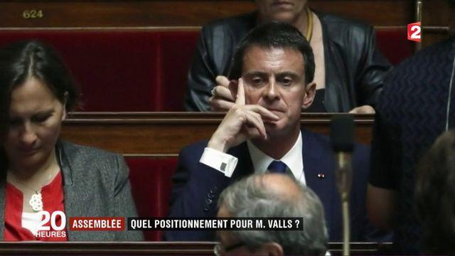 Assemblée nationale : quel positionnement pour Manuel Valls ?