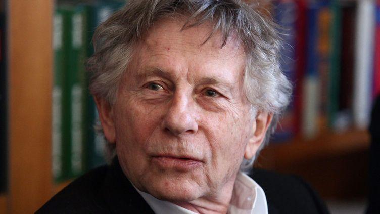 Roman Polanski en conférence de presse à Cracovie, le 15 janvier 2015  (Stanislaw Rozpedik / Epa / MaxPPP)