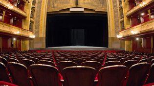A l'intérieur du Théâtre du Châtelet.  (Loïc Venance / AFP)