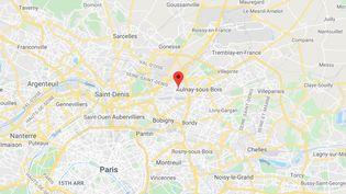 Le Blanc-Mesnil (Seine-Saint-Denis). (CAPTURE D'ECRAN GOOGLE MAPS)