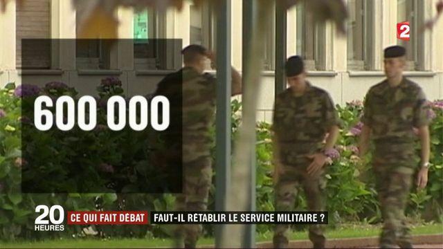 Faut-il rétablir le service militaire?