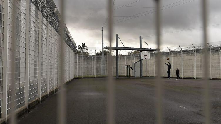 Centre pénitentiaire de Mont-de-Marsan, en novembre 2016. (Illustration) (NICOLAS TUCAT / AFP)